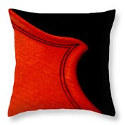 Crescendo Throw Pillow by Lisa Phillips