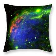 Crescent Nebula Throw Pillow