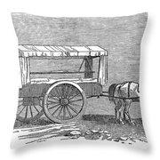 Crimean War: Ambulance Throw Pillow