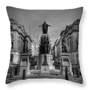 Crimean War Memorial Throw Pillow