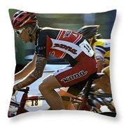Criterium Bicycle Race1 Throw Pillow