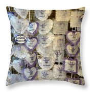 Croatian Lavender Throw Pillow