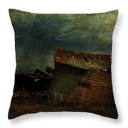 Crooked Breeze Revisited  Throw Pillow