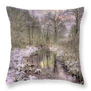 Crooked Creek Throw Pillow