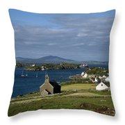 Crookhaven, Co Cork, Ireland Throw Pillow