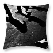 Crooks And Ties Throw Pillow