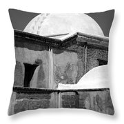 Cross At Tumacacori Throw Pillow
