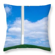 Cross Built For The Late Pope John Paul Throw Pillow