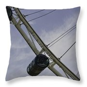 Cross Section Of The Singapore Flyer Throw Pillow