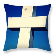 Cross To Bear Throw Pillow
