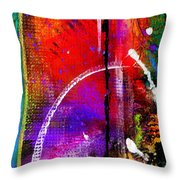 Crossing Over And Back Again Throw Pillow