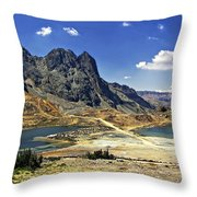 Crossing The Andes Throw Pillow