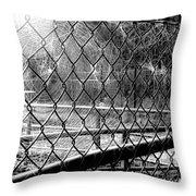 Crosslinked - Vernetzt Throw Pillow