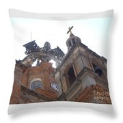 Crown Of Our Lady Of Guadalupe Throw Pillow