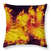 Crown Of The Potentate Throw Pillow