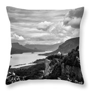 Crown Point Two Throw Pillow