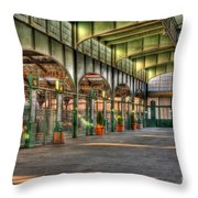 Crrnj Terminal II Throw Pillow