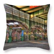Crrnj Terminal IIi Throw Pillow