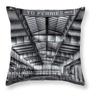 Crrnj Terminal V Throw Pillow