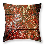 Crucifixion - Tile Throw Pillow