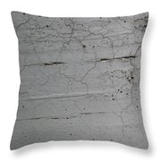 Crumbling Concrete Throw Pillow