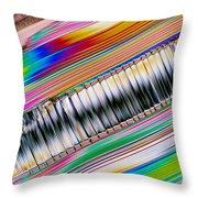 Crystal Aluminate Throw Pillow