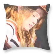 Crystal Bowersox Throw Pillow