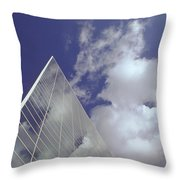 Crystal Cathedral 2 Throw Pillow