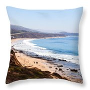 Crystal Cove Orange County California Throw Pillow