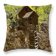Crystal Mill 1 Throw Pillow