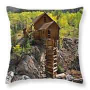 Crystal Mill 4 Throw Pillow