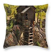 Crystal Mill 6 Throw Pillow