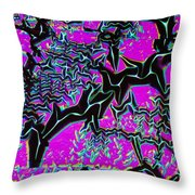 Crystal Nickel Oxide Throw Pillow