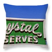 Crystal Preserves New Orleans Throw Pillow