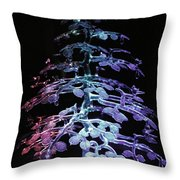 Crystal Tree In Color Throw Pillow