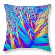 Crystal Vitamin C Throw Pillow