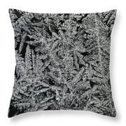 Crystals 8 Throw Pillow