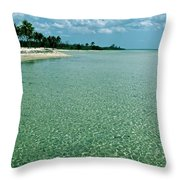 Cuban Paradise Throw Pillow