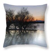 Cubillas Lake Throw Pillow