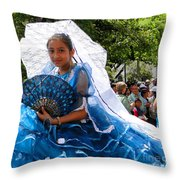 Cuenca Kids 129 Throw Pillow