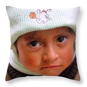 Cuenca Kids 173 Throw Pillow