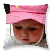 Cuenca Kids 208 Throw Pillow by Al Bourassa