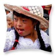 Cuenca Kids 43 Throw Pillow