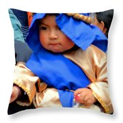 Cuenca Kids 50 Throw Pillow