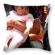 Cuenca Kids 56 Throw Pillow by Al Bourassa