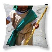 Cuenca Kids 63 Throw Pillow by Al Bourassa