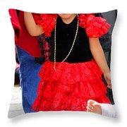 Cuenca Kids 86 Throw Pillow by Al Bourassa