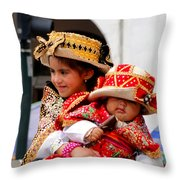 Cuenca Kids 88 Throw Pillow