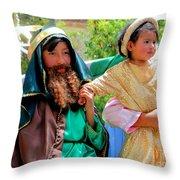 Cuenca Kids 95 Throw Pillow