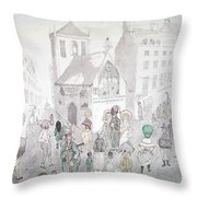 Cult Of Supreme Being Throw Pillow